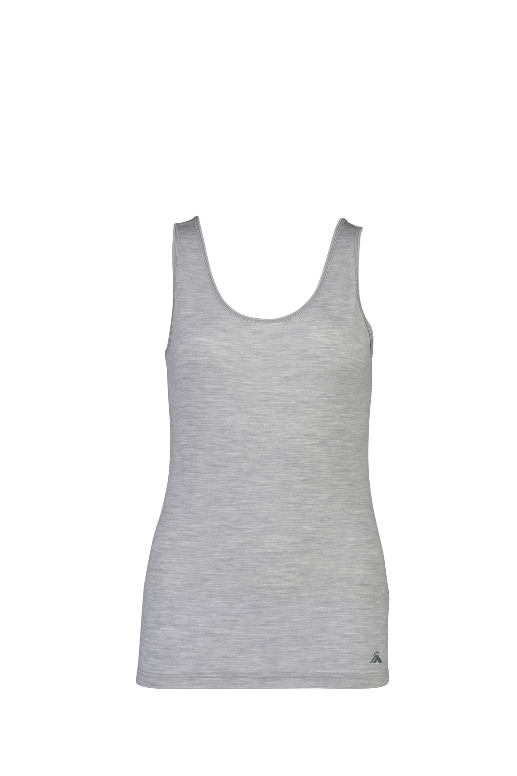 Macpac 150 Merino Singlet - Women's, Light Grey Marle, hi-res