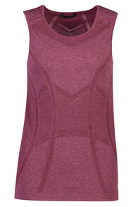 Macpac Limitless Tank - Women's, Fig, hi-res