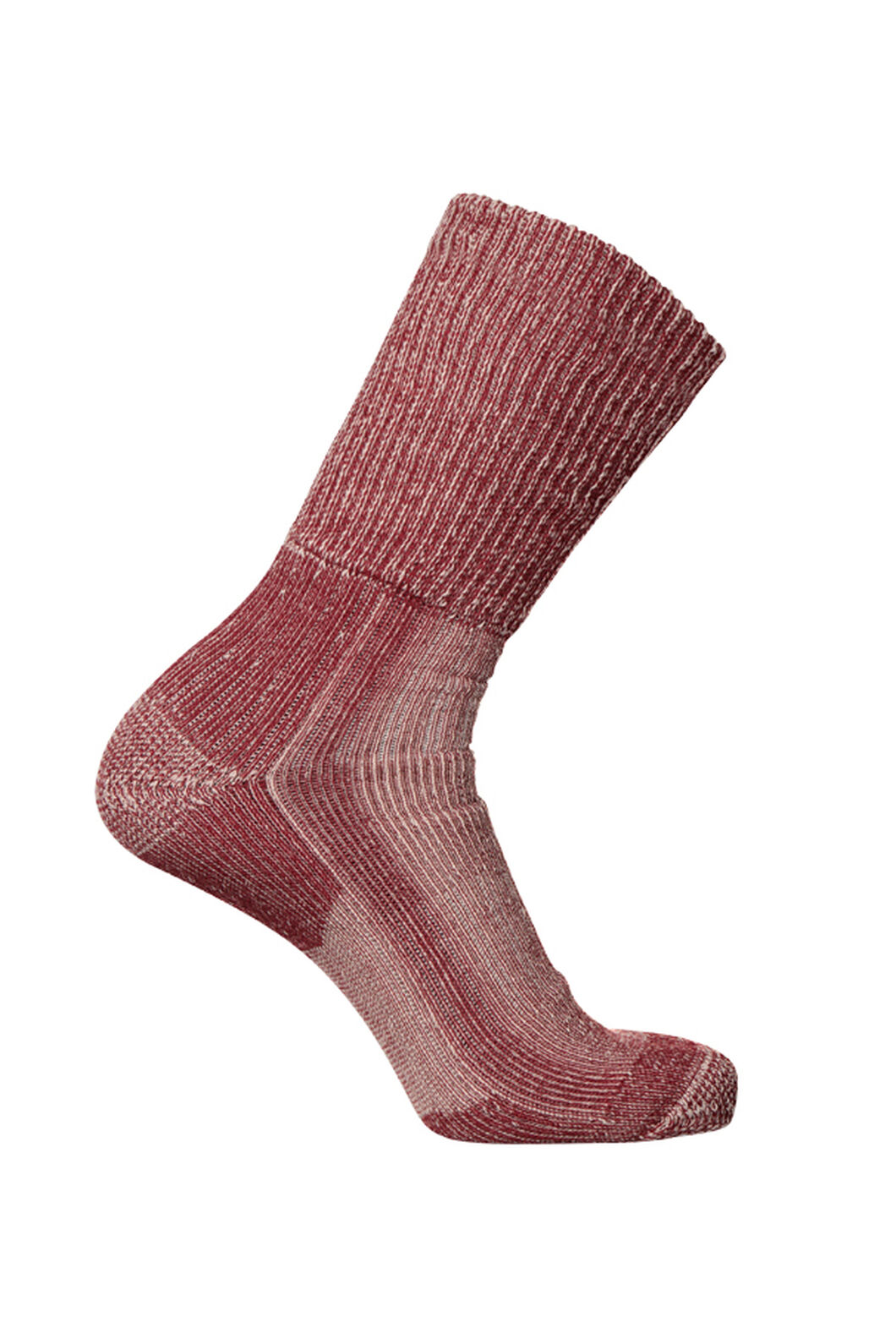 Macpac Winter Hiker Socks, Red, hi-res