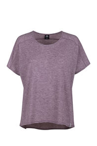 Macpac Eva Short Sleeve Tee - Women's, Fudge, hi-res