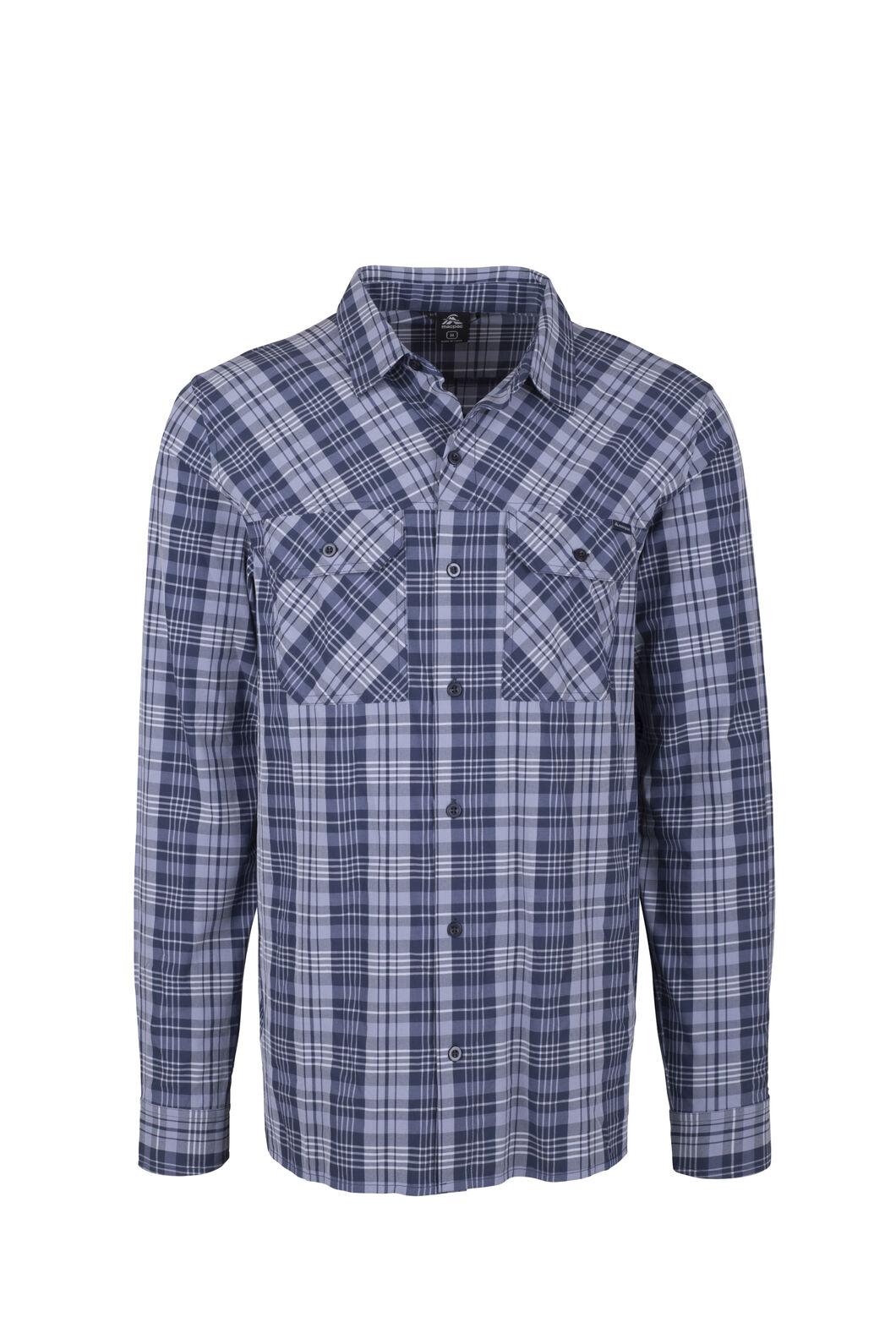 Macpac Eclipse Long Sleeve Shirt — Men's, Black Iris, hi-res
