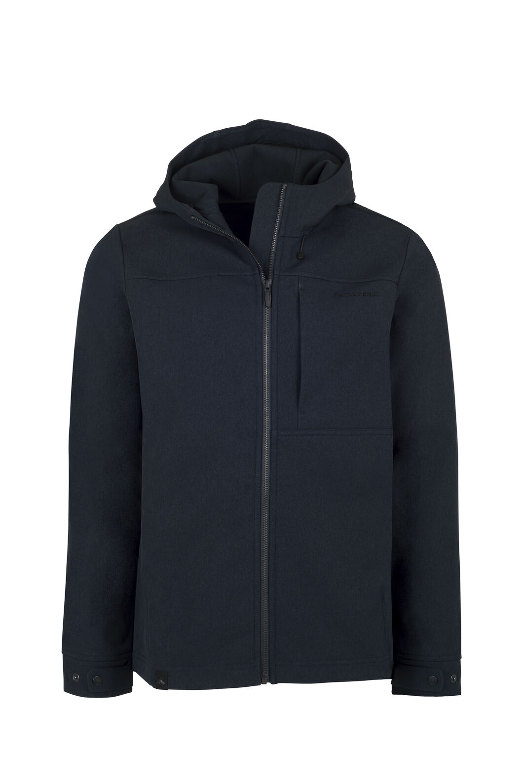 Macpac Chord Hooded Softshell Jacket - Men's, Carbon, hi-res