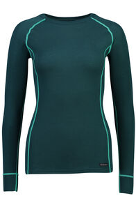 Geothermal Long Sleeve Top - Women's, Deep Teal, hi-res