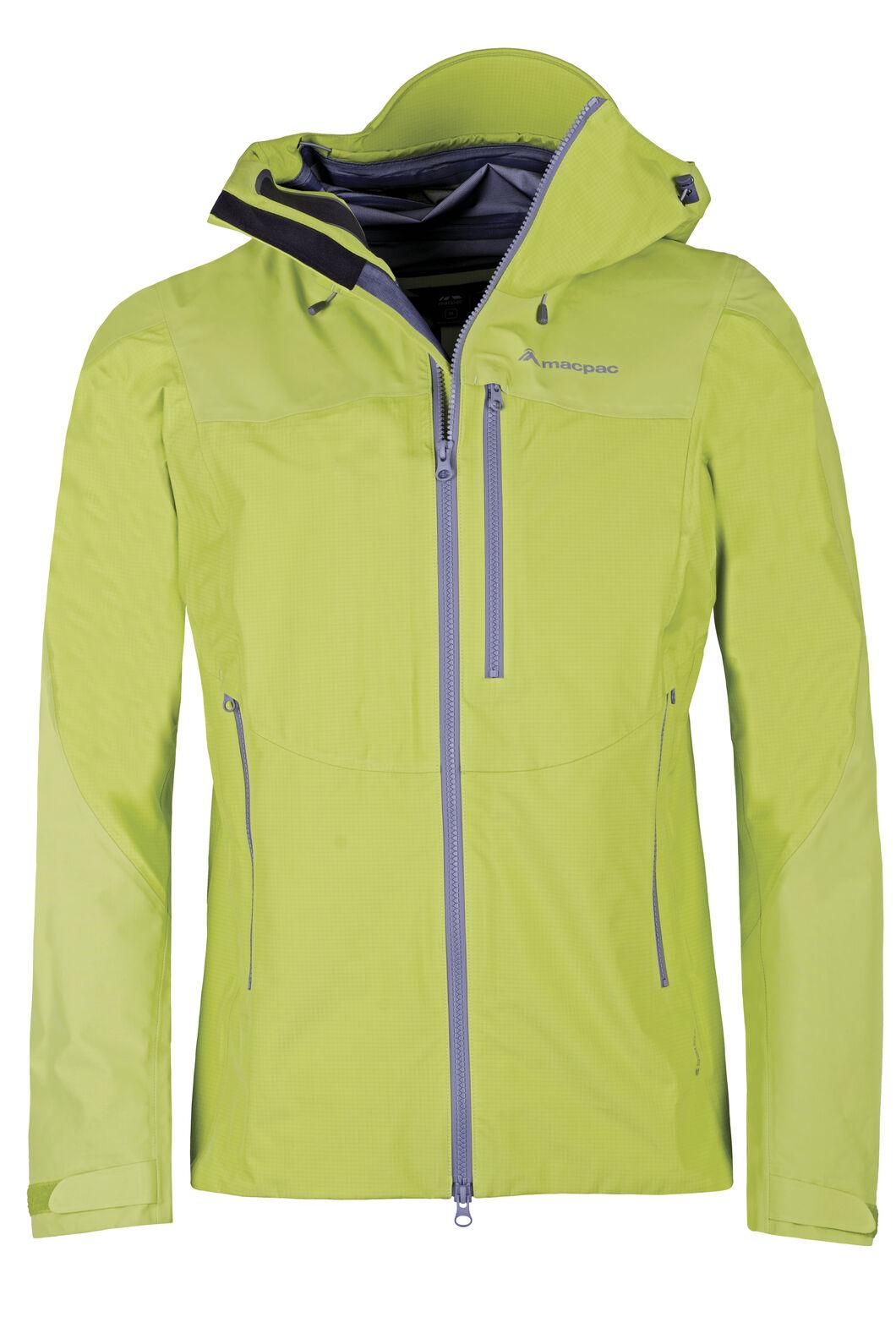 Macpac Lightweight Prophet Pertex® Rain Jacket — Men's, Apple, hi-res
