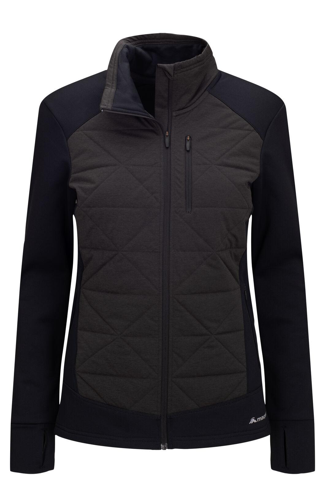 Macpac Women's Accelerate PrimaLoft® Fleece Jacket, Black, hi-res