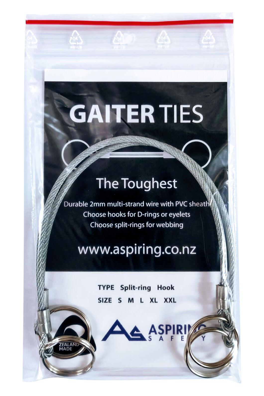 Aspiring Safety Gaiter Ties, None, hi-res