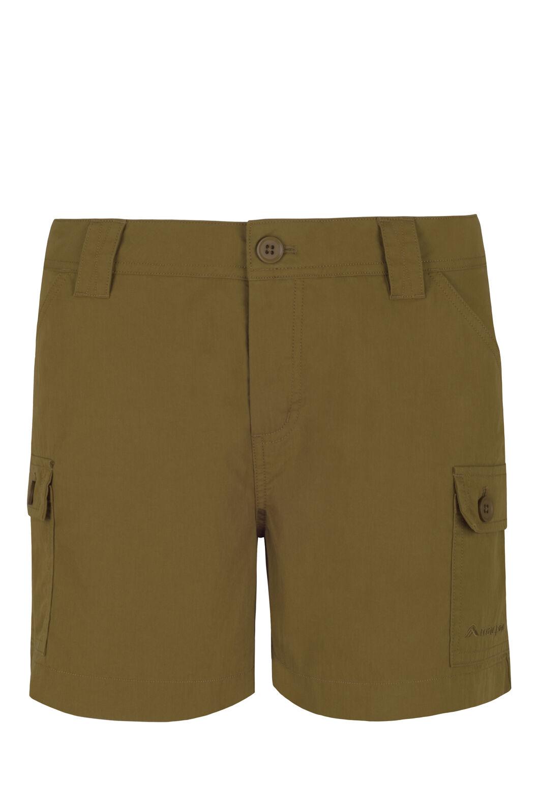 Macpac Matrix Shorts - Women's, Breen, hi-res