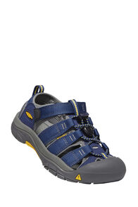 KEEN Newport H2 Sandals — Youth, Navy/Grey, hi-res