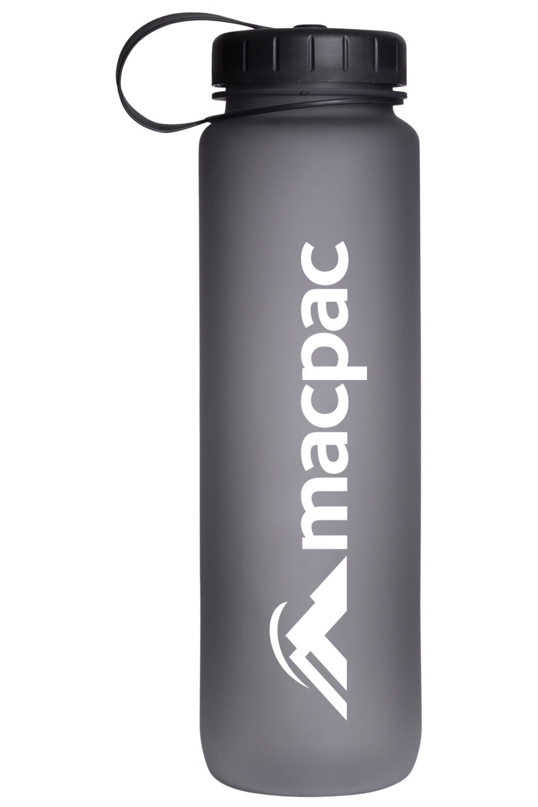 Macpac Soft Touch Water Bottle 1L, Grey, hi-res