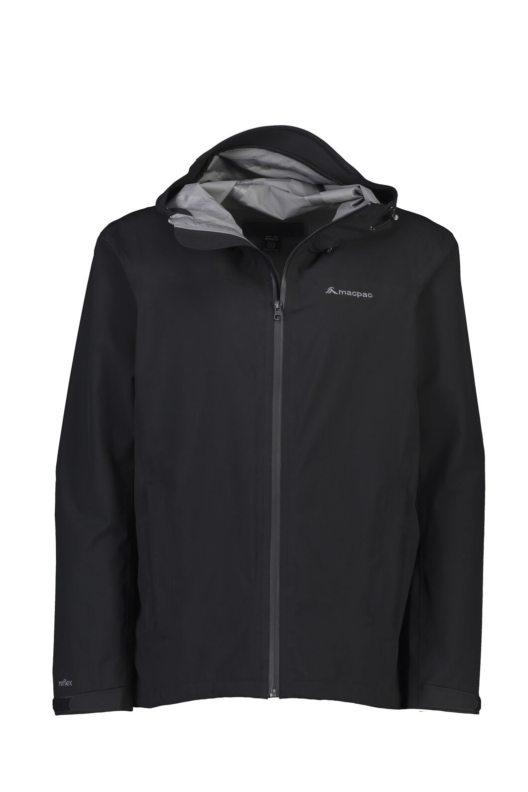 Macpac Dispatch Rain Jacket — Men's, Black, hi-res