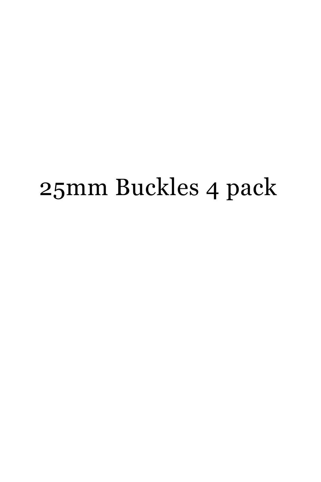 Macpac 25mm SR Buckle - 4 Pack, Black, hi-res