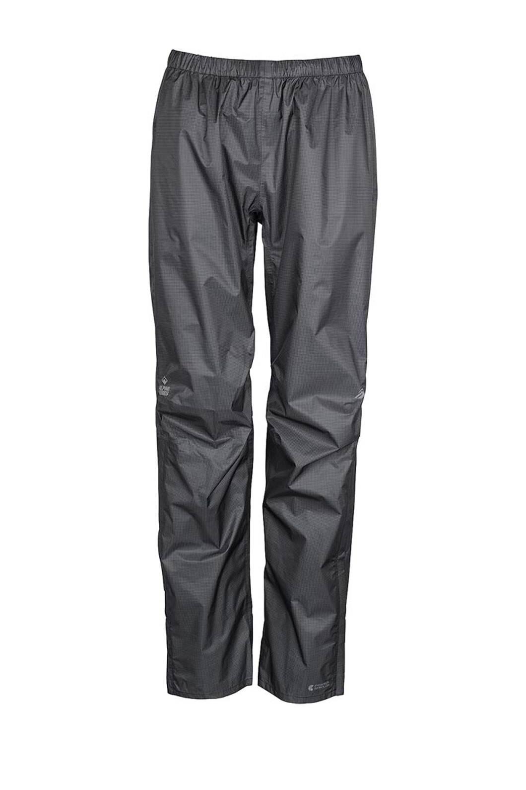Macpac Hightail Pertex® Rain Pants — Women's, Black, hi-res