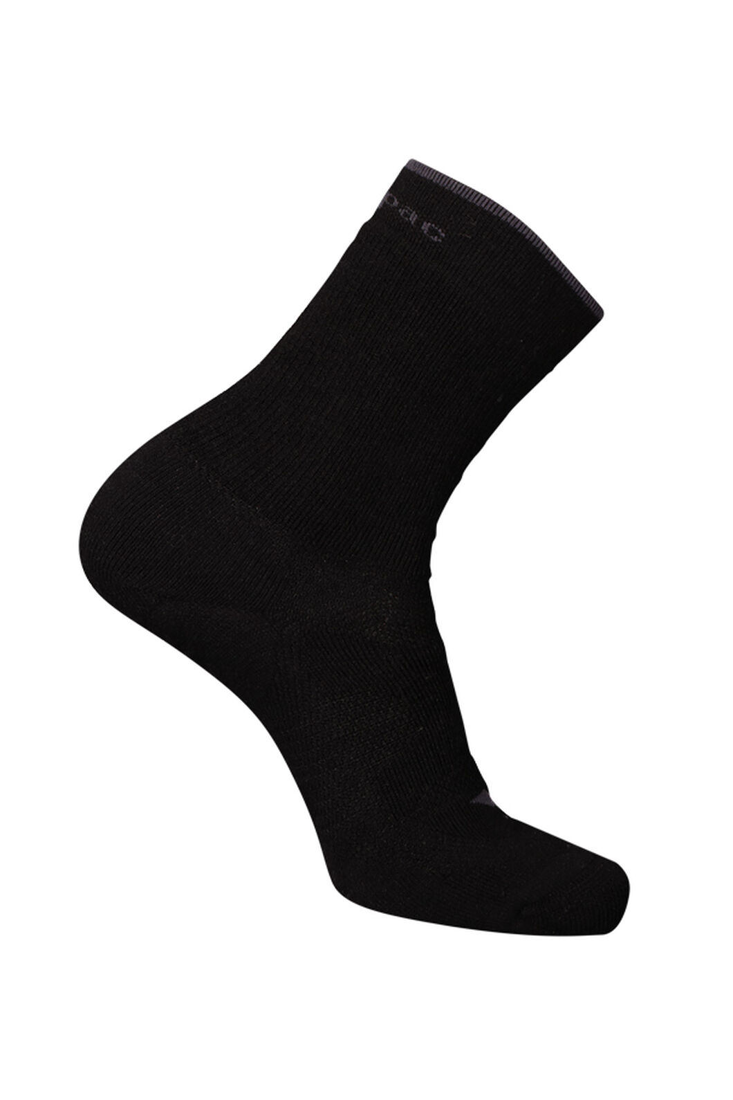 Macpac Merino Hiker Socks, Black, hi-res