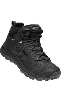 Keen Terradora II Mid WP Hiking Boots — Women's, Black Magnet, hi-res