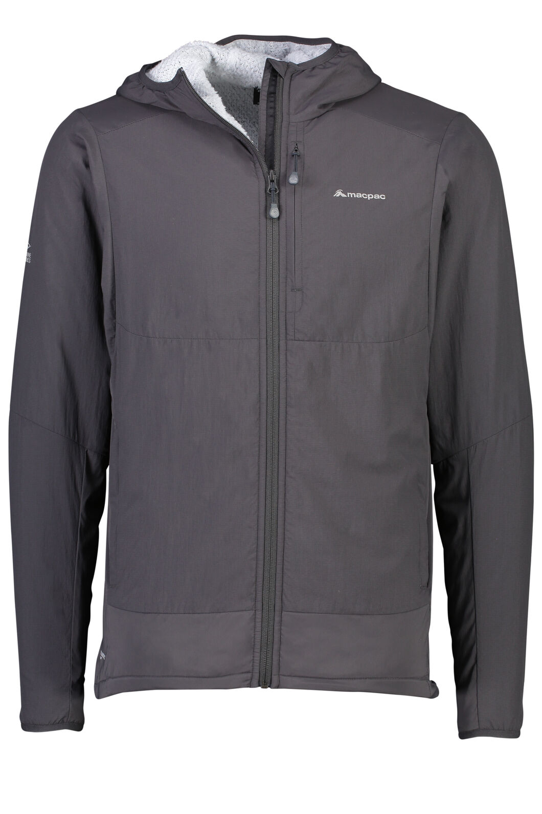Pisa Polartec® Hooded Jacket - Men's, Phantom, hi-res