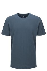 Macpac Lyell 180 Merino Tee — Men's, Orion Blue, hi-res