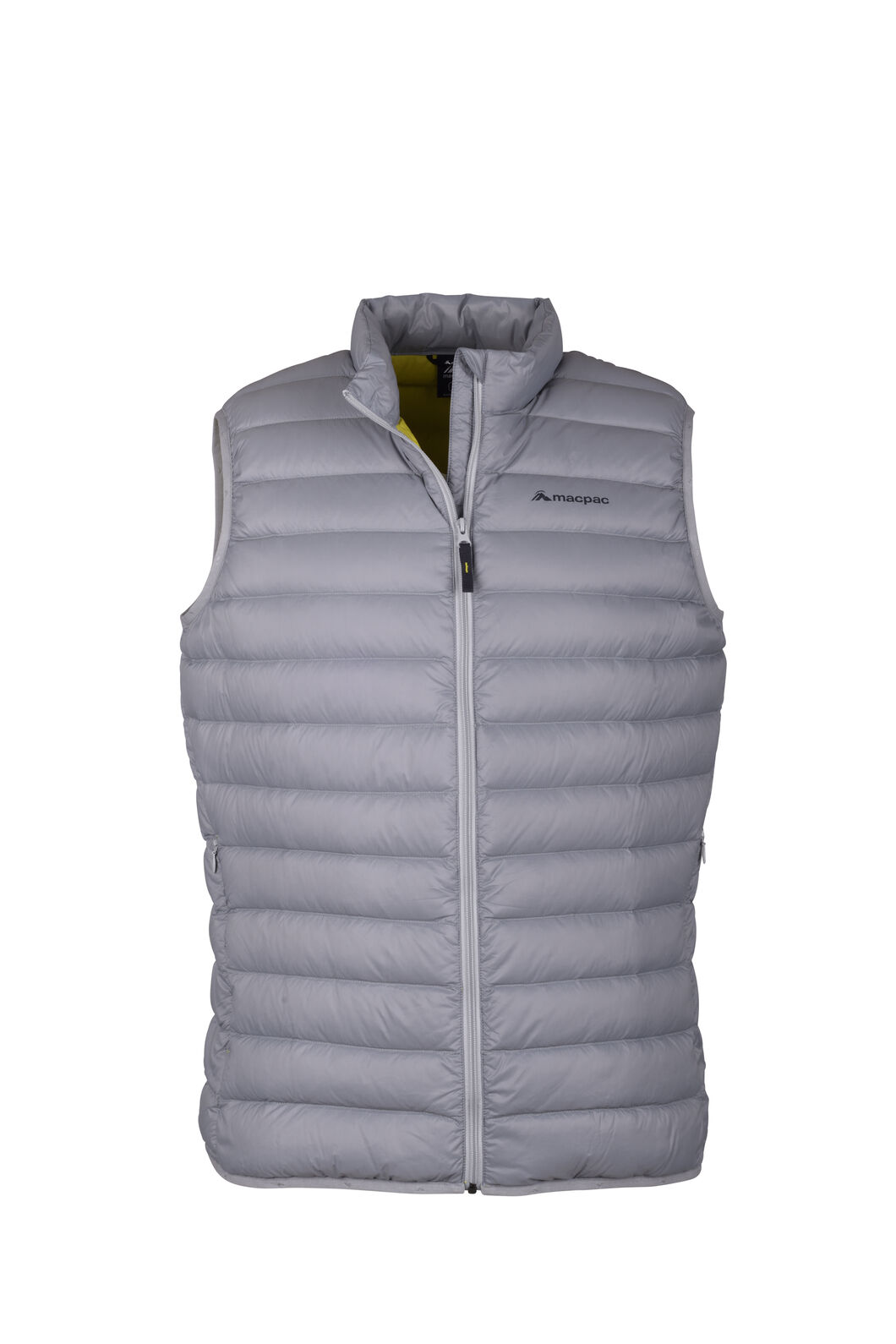 Macpac Uber Light Down Vest — Men's, Monument, hi-res