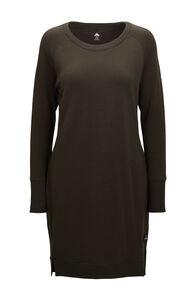 Macpac Women's Platform Merino Dress, Rosin, hi-res