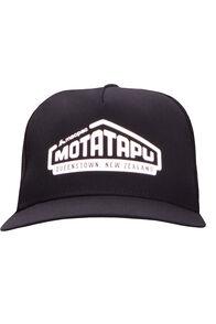 Macpac Mototapu Trucker Cap, Black/Black, hi-res