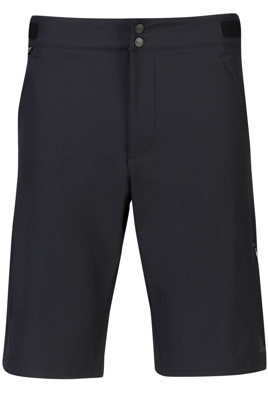 Macpac Stretch Pertex Equilibrium® Mountain Bike Shorts - Men's, Black, hi-res