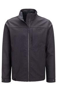 Macpac Chord Softshell Jacket — Men's, Black, hi-res