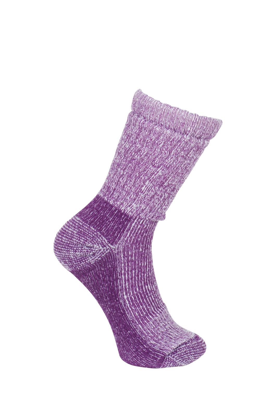 Macpac Winter Hiker Socks - Kids', Magenta, hi-res