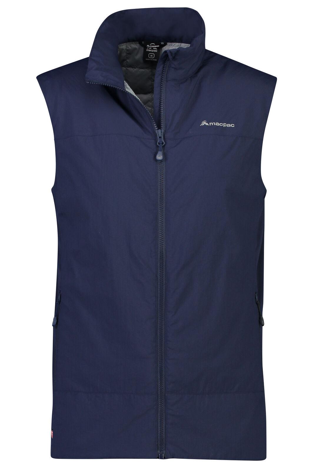 Macpac Ethos PrimaLoft® Vest - Men's, Black Iris, hi-res