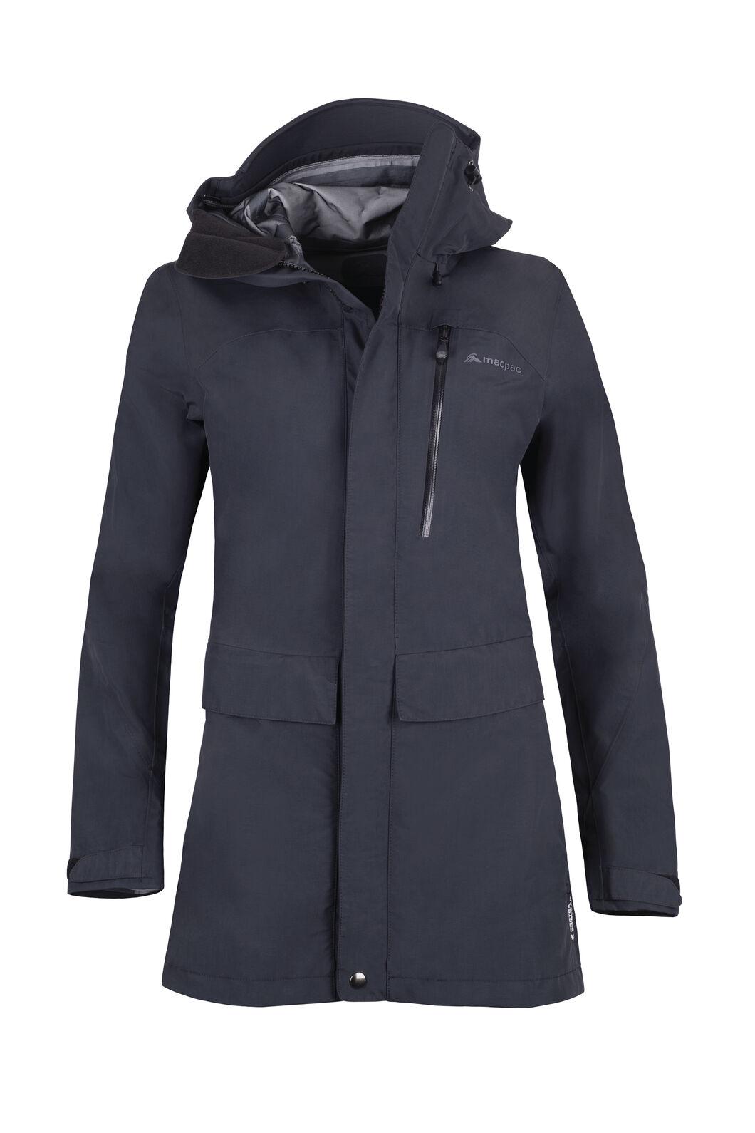 Macpac Resolution Pertex® Rain Jacket - Women's, Black, hi-res