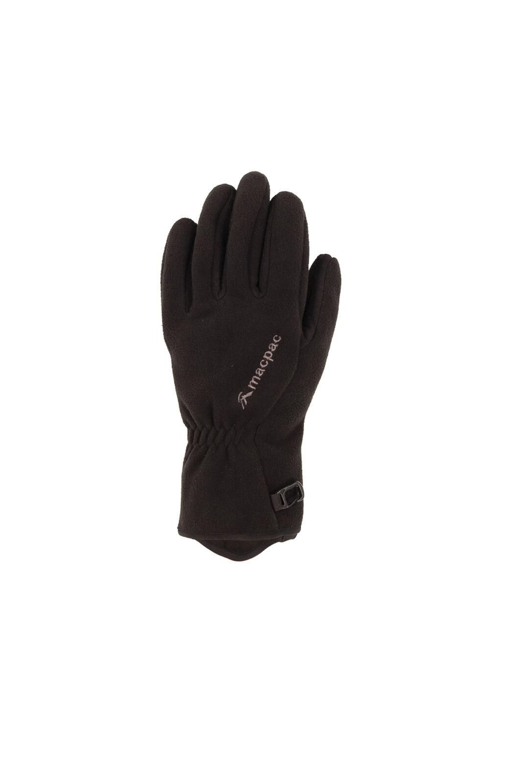 Macpac Flurry Gloves, Black, hi-res