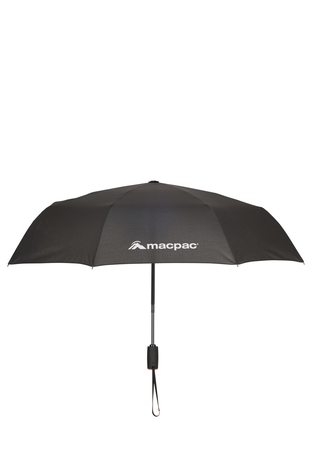 Macpac Travel Umbrella, Black, hi-res