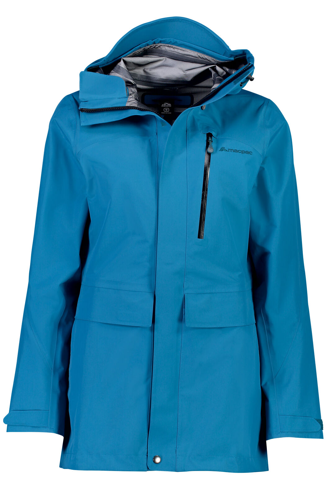 Resolution Pertex Shield® Long Rain Jacket - Women's, Ocean Depths, hi-res