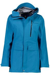 Resolution Pertex Shield® Long Rain Jacket - Women's, Ocean Depths, hi-res