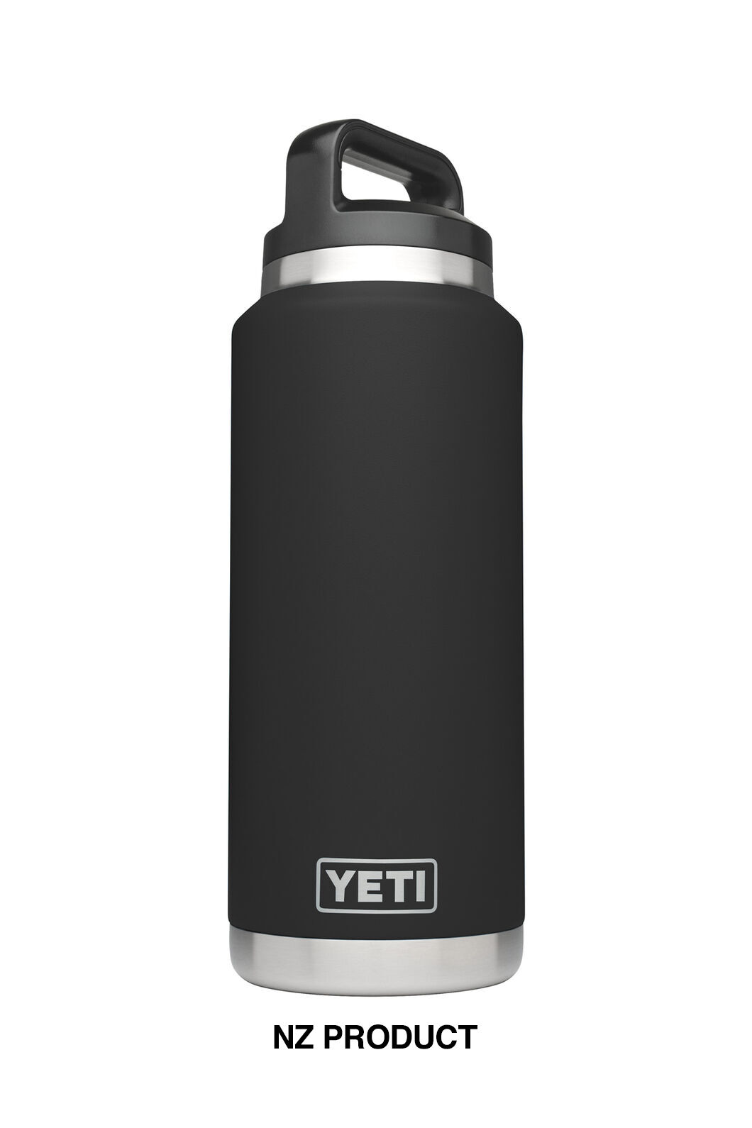 YETI® Rambler 36 oz Bottle — 1 L, Black, hi-res