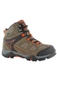Hi-Tec Kids' Altitude Lite Hiking Boot, Smokey Brown/Taupe/Red Rock, hi-res