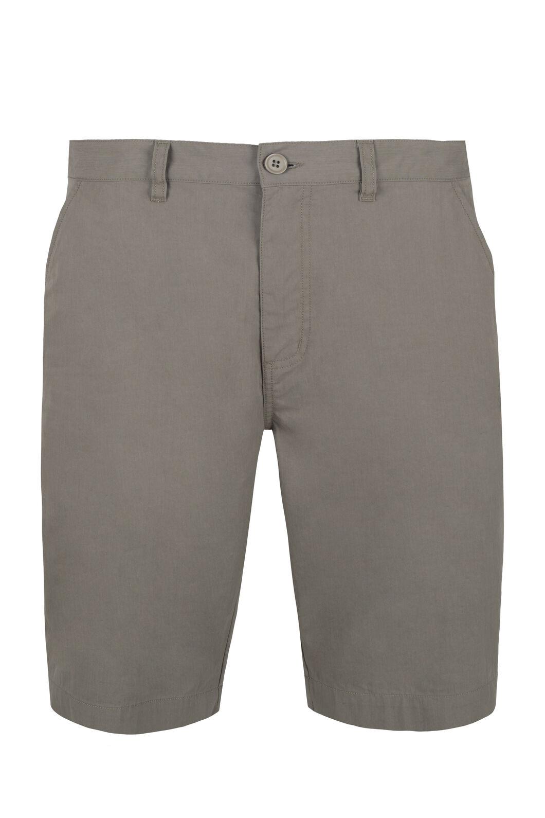 Macpac Kelburn Shorts - Men's, Lead Grey, hi-res