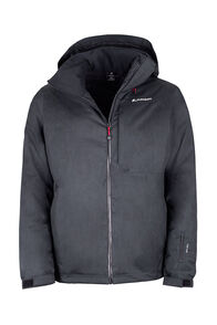 Macpac Powder Ski Jacket - Men's, Black/Black, hi-res