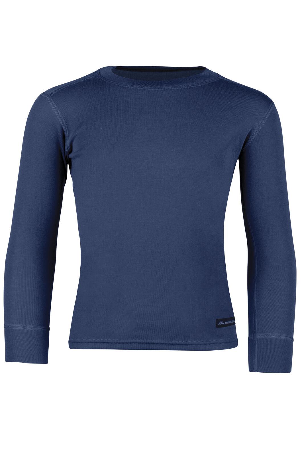 Geothermal Long Sleeve Top - Kids', Dress Blue, hi-res