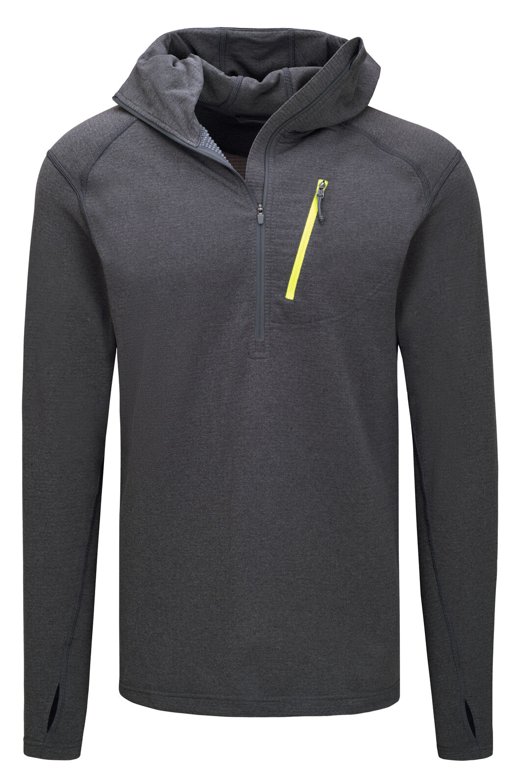 Macpac Men's Prothermal Polartec® Hooded Pullover, Iron Gate, hi-res
