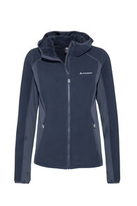 Macpac Mountain Hooded Jacket — Women's, Black Iris, hi-res