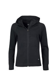 Macpac Focus 280 Merino Hoody - Women's, Black, hi-res