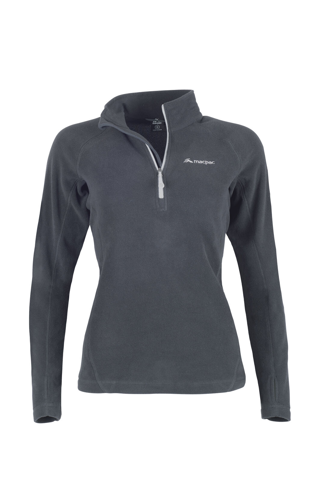 Macpac Tui Fleece Pullover - Women's, Black, hi-res