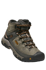 Keen Targhee III Mid WP Boot — Men's, Black Olive/Golden Brown, hi-res