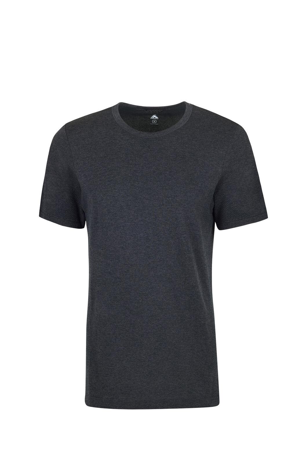 Macpac Limitless Short Sleeve Tee - Men's, Black, hi-res