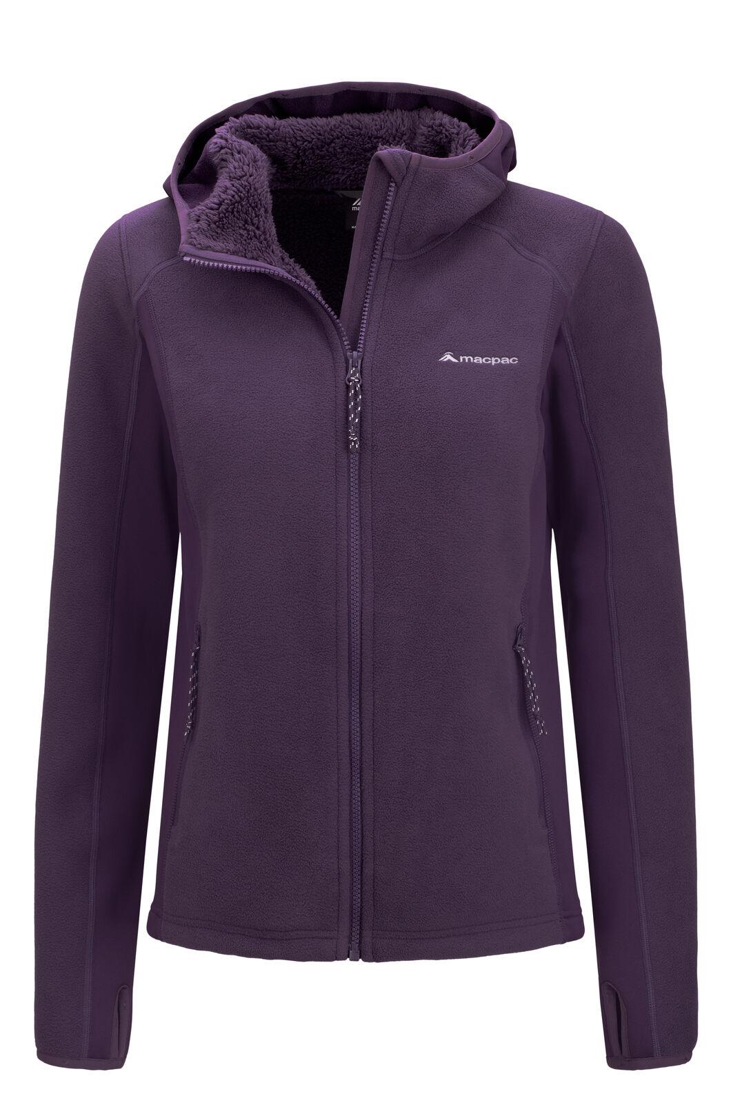 Macpac Mountain Hooded Jacket — Women's, Nightshade, hi-res