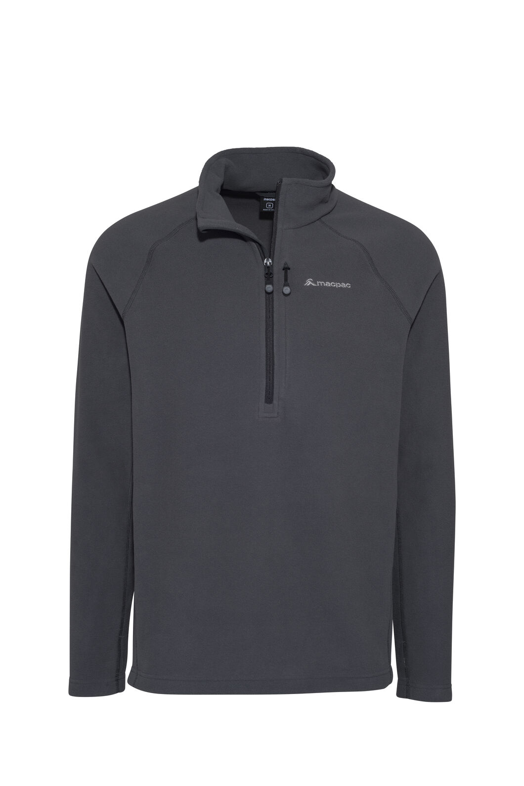 Macpac Tui Polartec® Micro Fleece® Pullover — Men's, Iron Gate, hi-res