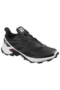 Salomon Supercross Blast Trail Running Shoes — Men's, Black/White/Black, hi-res