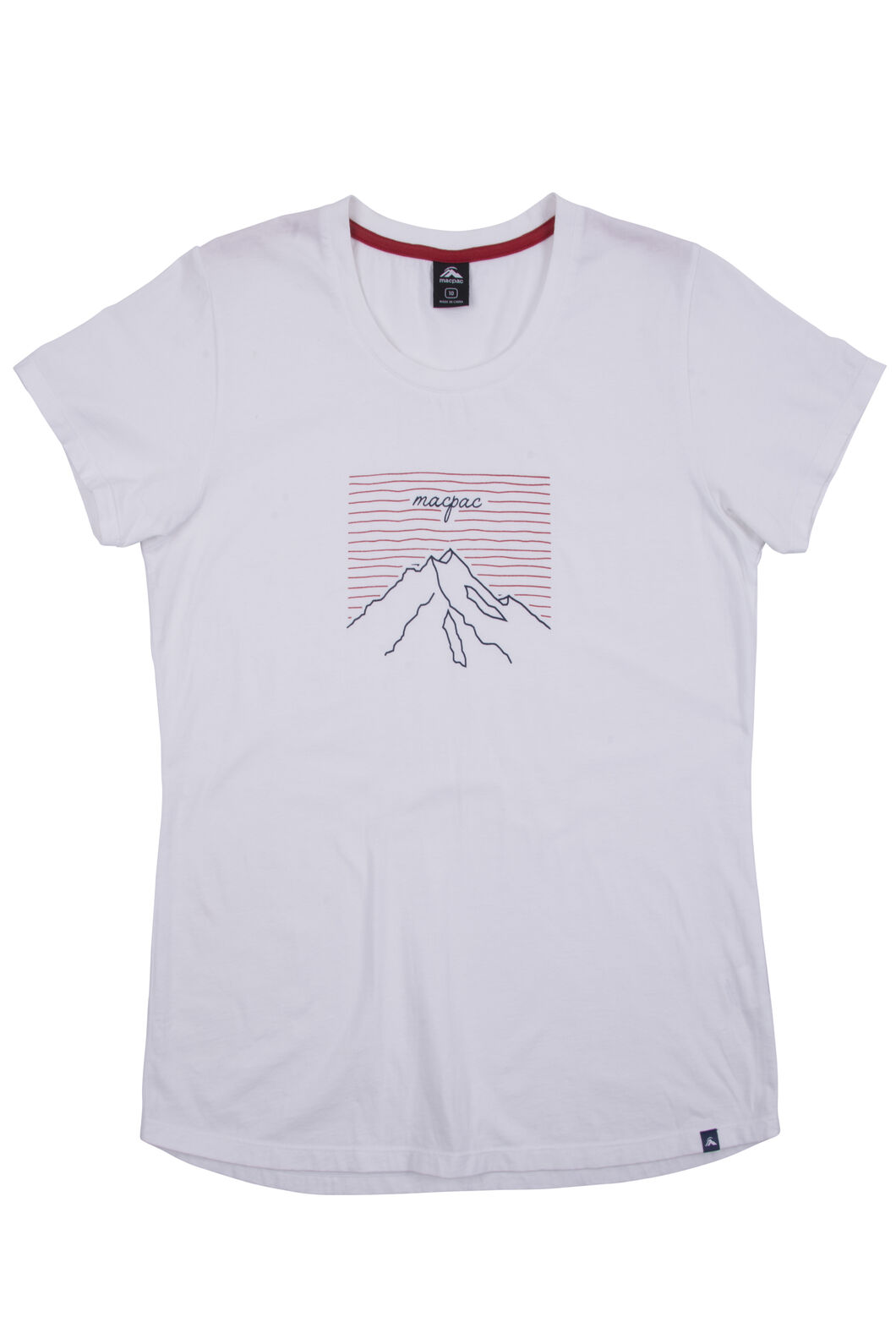 Summit Organic Cotton Tee - Women's, White, hi-res