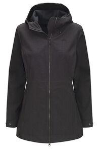 Macpac Chord Softshell Hooded Jacket — Women's, Black, hi-res
