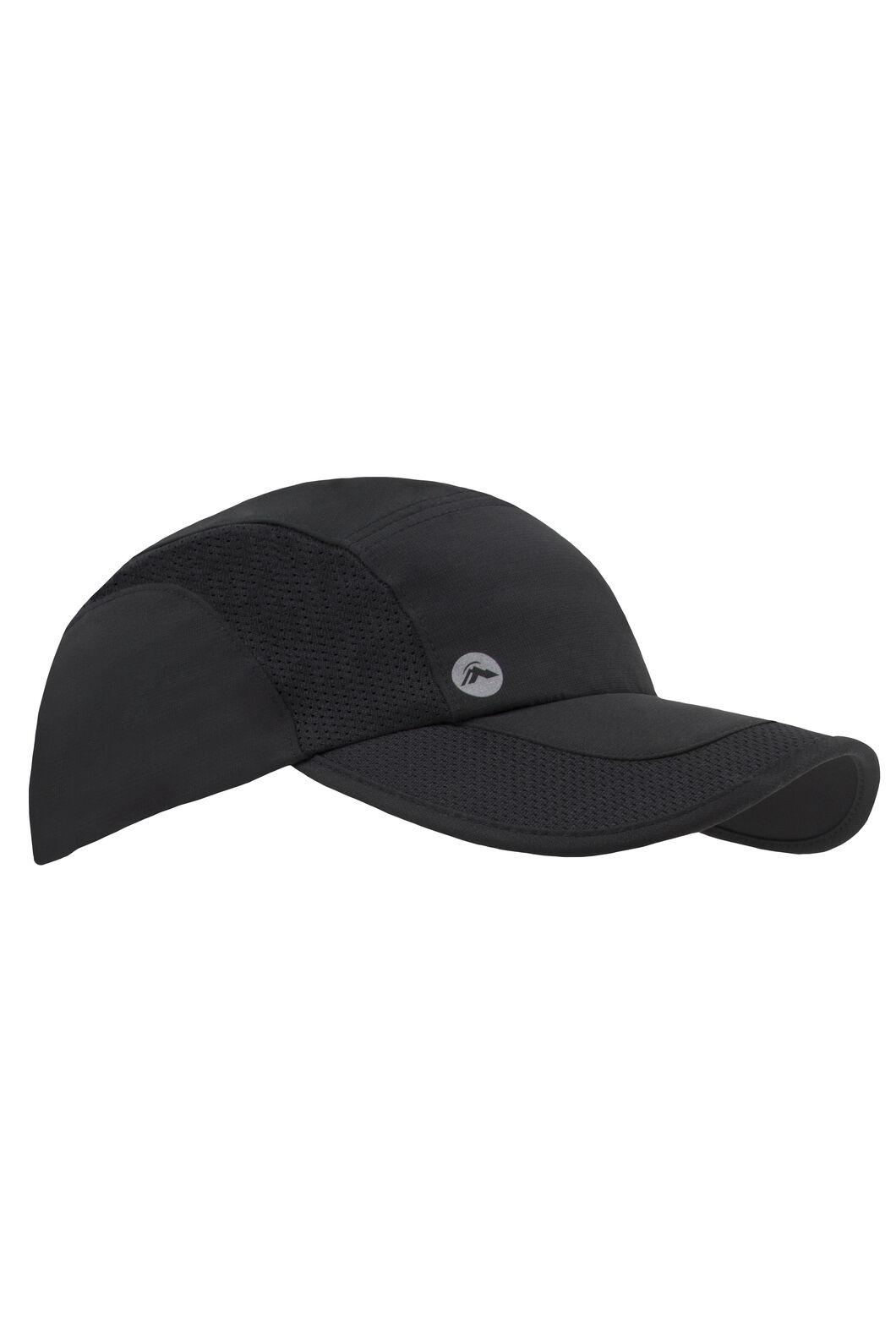 Macpac Fast Pack Cap - Unisex, Black, hi-res