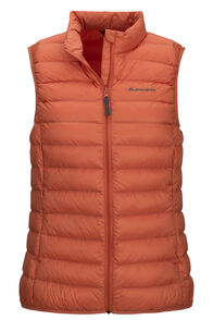 Macpac Uber Light Down Vest — Women's, Apricot Brandy, hi-res